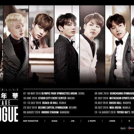 [Concert] BTS – 2016 Live 花様年華 On Stage : Epilogue ~Japan Edition~ [Blu-ray HD 1080p]