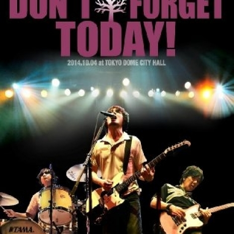 "the pillows 25th Anniversary NEVER ENDING STORY ""DON'T FORGET TODAY!"" 2014.10.04 at TOKYO DOME CITY HALL"